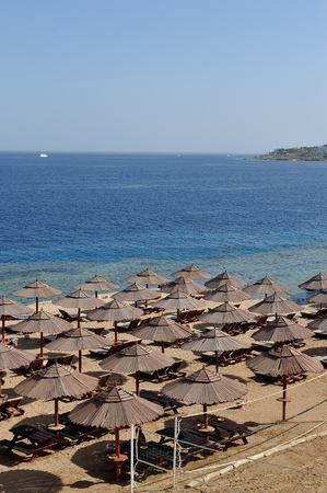 sinay: View on red sea bay in Sharm-el-Sheikh. South Sinay. 30 june 2014