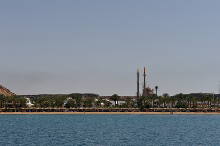 sinay: View on red sea bay in Sharm-el-Sheikh. South Sinay.02 july 2014