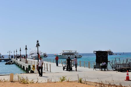 naama bay: Bay in Sharm-el-Sheikh 03 july 2014 Editorial