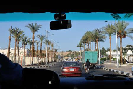 sinay: Sharm-El-Sheikh street. South Sinay. 03 july 2014 Editorial