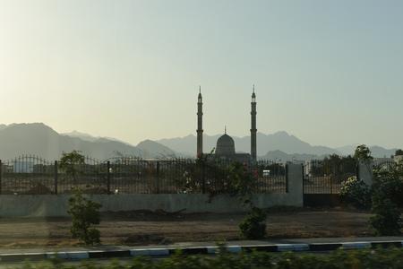 Sharm-El-Sheikh street. South Sinay. 03 july 2014 Stock Photo