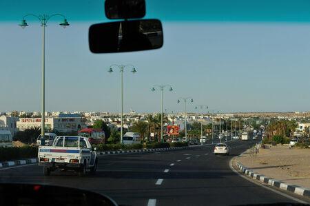 Sharm-El-Sheikh street. South Sinay. 03 july 2014 Editorial