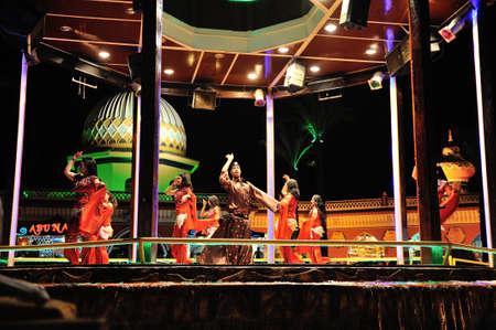 sinay: Fantasia - Alf Leila Wa Leila. Sharm el-Sheikh. Egypt.04 july 2014