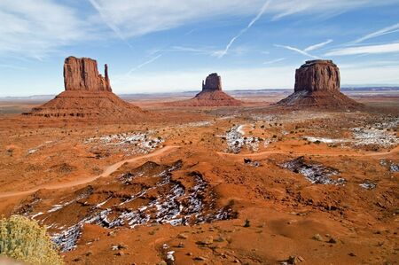 Monument Valley Navajo Tribal Park, Utah / Arizona, USA Stock Photo - 2409207