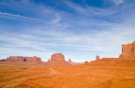 Monument Valley Navajo Tribal Park, Utah  Arizona, USA