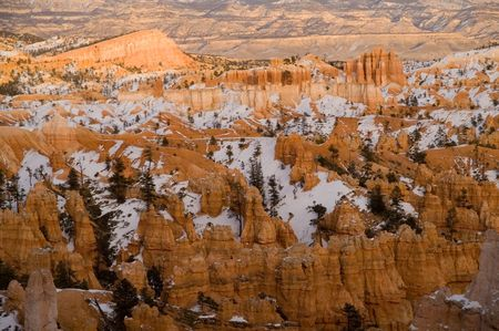 Amphitheater in Bryce Canyon National Park, Utah, USA photo