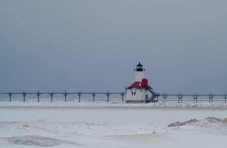 St Joseph Lighthouse, Michigan, USA photo