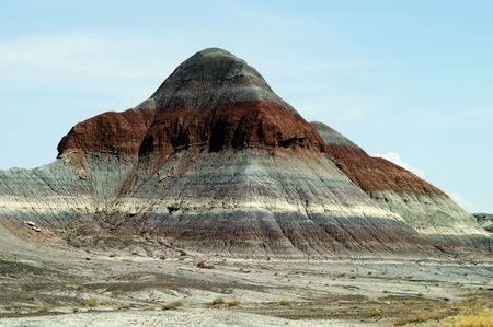 Painted Desert, Petrified Forest National Park, Arizona, USA Stock Photo