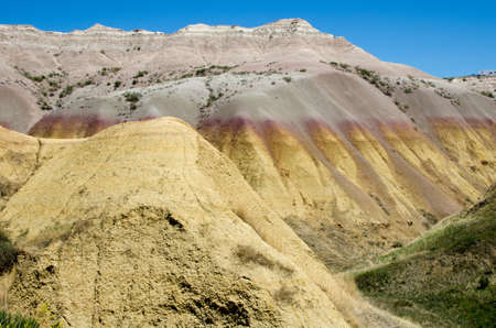 dillon: Colorful buttes in Badlands National Park, South Dakota, USA