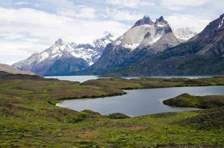 paine: Cuernos del Paine (Horns of Paine), Torres Del Paine National Park, Patagonia, Chile