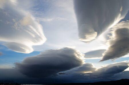 puerto natales: Amazing skies over Puerto Natales, Patagonia, Chile