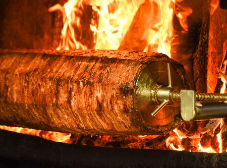 Traditional Turkish Food, Turkish Kebab, Doner, kebabs Cage in Turkey.