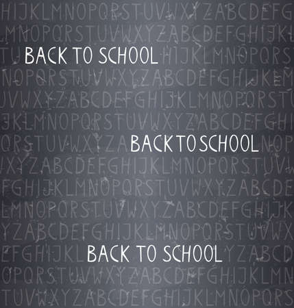 back to school � seamless pattern Vector