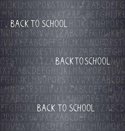 scrapbook background: back to school � seamless pattern