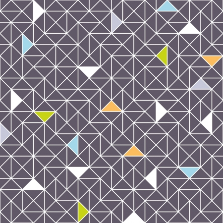 networked: seamless geometric pattern Illustration