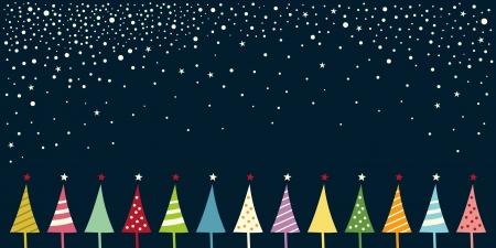 invitación a fiesta: tarjeta de Navidad Vectores