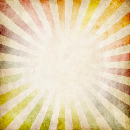 Bunte Grunge Strahlen Hintergrund Standard-Bild - 22150673