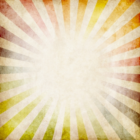 colorful grunge rays background