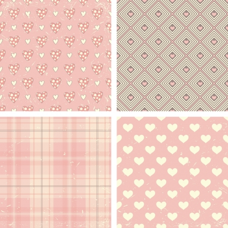 wrapping paper: seamless patterns Illustration