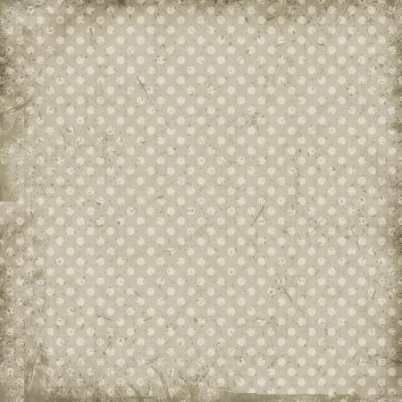 ビンテージ ドット背景 写真素材
