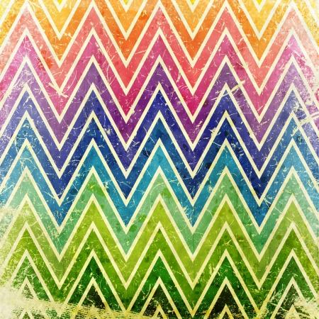 grunge background with zigzag pattern