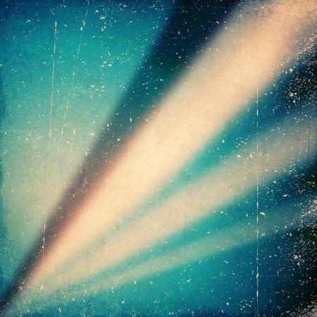 outworn: grunge rays background