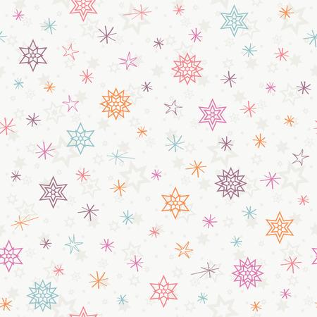 Nahtlose Weihnachten Muster Vektorgrafik