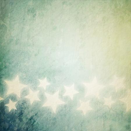 outworn: grunge stars background