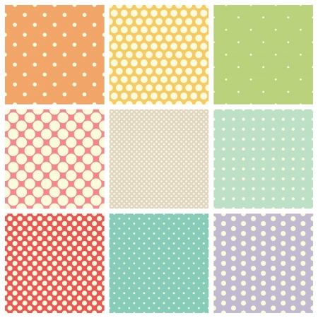 seamless dots patterns