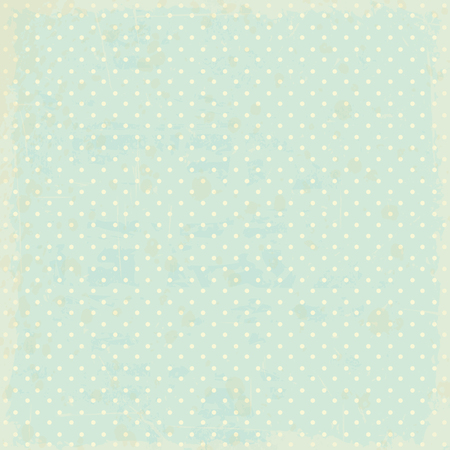 vintage dots background Vector
