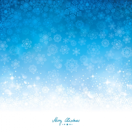 gloss banner: abstract winter background Illustration