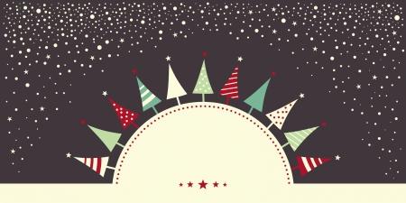 Weihnachtskarte Standard-Bild - 23847389