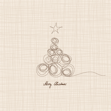 background motif: christmas card