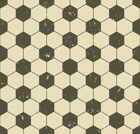 seamless vintage soccer pattern 向量圖像