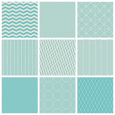 scrapbook paper: seamless patterns Illustration