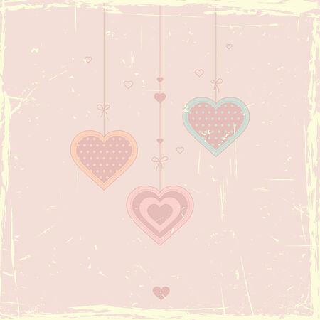 romantic card 向量圖像