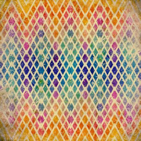 outworn: grunge mosaic background Stock Photo