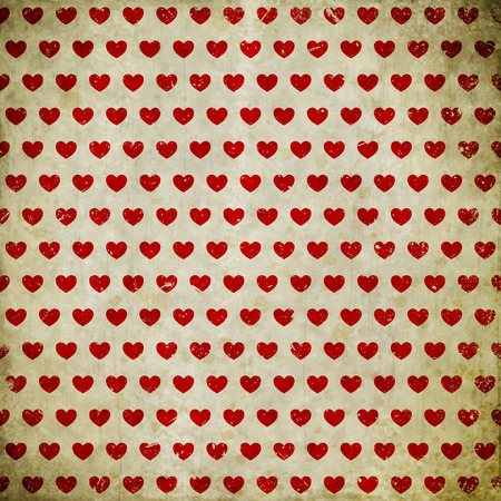 blotchy: grunge background with hearts