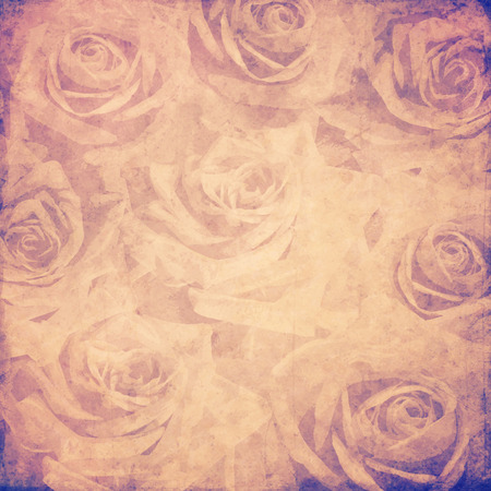 vintage roses background photo