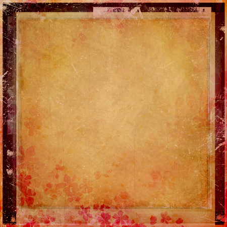blotchy: vintage background in asian style