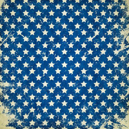blue grunge background with stars 版權商用圖片