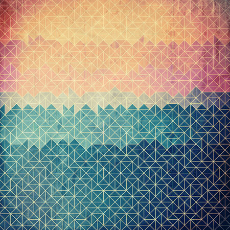 abstract geometric grunge background photo