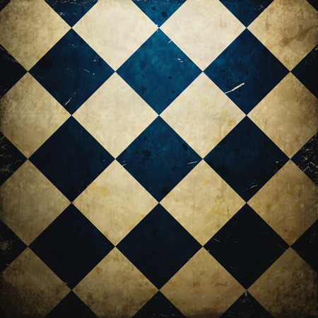 grunge checkered background photo