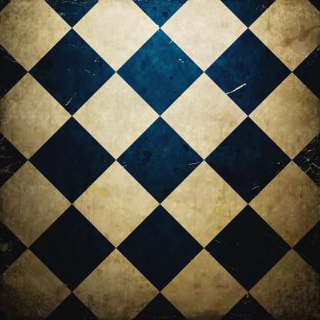 outworn: grunge checkered background