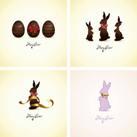 nibbled: set of easter cards