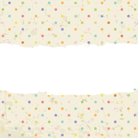 dots background with space for text