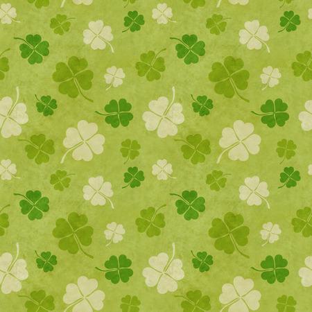 good luck: seamless clover patterns