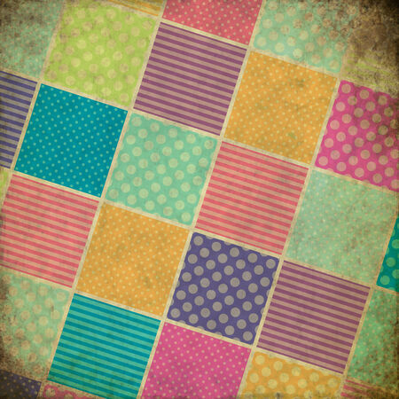 patchwork grunge background photo
