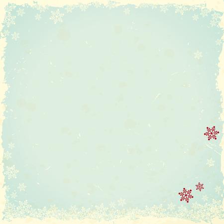 vintage winter background