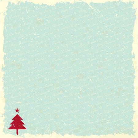 vintage paper: vintage christmas background